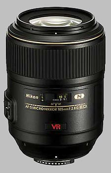 image of the Nikon 105mm f/2.8G IF-ED AF-S VR Micro Nikkor lens