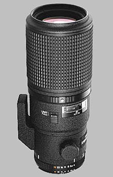 image of the Nikon 200mm f/4D ED-IF AF Micro Nikkor lens