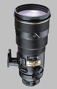 image of the Nikon 300mm f/2.8D ED-IF II AF-S Nikkor lens