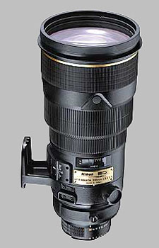 image of the Nikon 300mm f/2.8D ED-IF II AF-S Nikkor lens