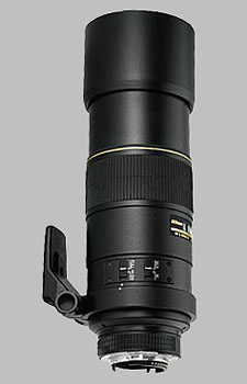 image of the Nikon 300mm f/4D ED-IF AF-S Nikkor lens