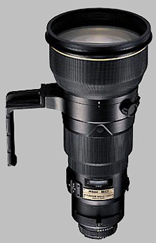 image of the Nikon 400mm f/2.8D ED-IF II AF-S Nikkor lens