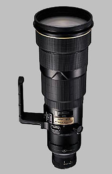 image of the Nikon 500mm f/4D ED-IF II AF-S Nikkor lens