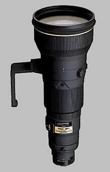 image of the Nikon 600mm f/4D ED-IF II AF-S Nikkor lens