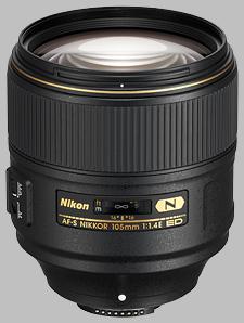 image of the Nikon 105mm f/1.4E ED AF-S Nikkor lens