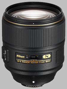 image of the Nikon 105mm f/1.4E ED AF-S Nikkor lens
