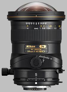 image of the Nikon 19mm f/4E ED PC Nikkor lens