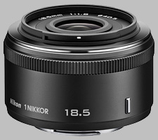 image of the Nikon 1 18.5mm f/1.8 Nikkor lens