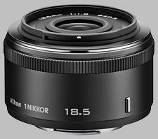 image of the Nikon 1 18.5mm f/1.8 Nikkor lens