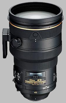 image of the Nikon 200mm f/2G ED AF-S VR II Nikkor lens