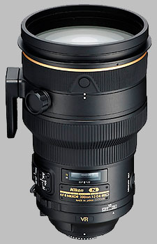 image of the Nikon 200mm f/2G ED AF-S VR II Nikkor lens