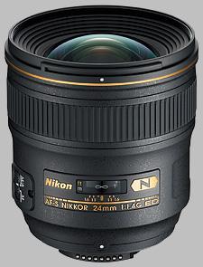 image of the Nikon 24mm f/1.4G ED AF-S Nikkor lens
