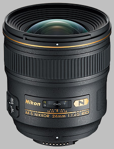 image of the Nikon 24mm f/1.4G ED AF-S Nikkor lens