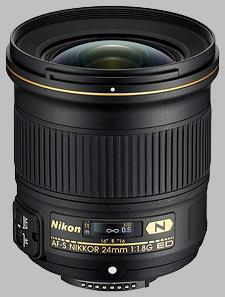 image of the Nikon 24mm f/1.8G ED AF-S Nikkor lens