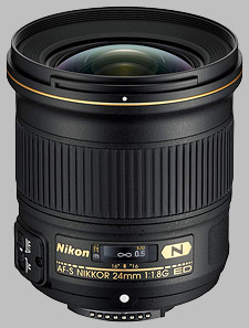 image of the Nikon 24mm f/1.8G ED AF-S Nikkor lens