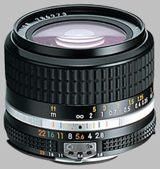 image of the Nikon 24mm f/2.8 AIS Nikkor lens