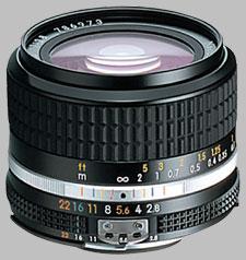 image of the Nikon 24mm f/2.8 AIS Nikkor lens