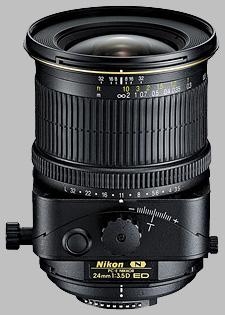 image of the Nikon 24mm f/3.5D ED PC-E Nikkor lens