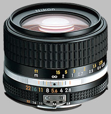 image of the Nikon 28mm f/2.8 AIS Nikkor lens