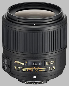 image of the Nikon 35mm f/1.8G ED AF-S Nikkor lens