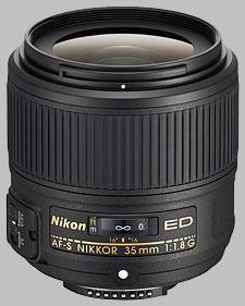 image of the Nikon 35mm f/1.8G ED AF-S Nikkor lens
