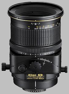 image of the Nikon 45mm f/2.8D ED PC-E Micro Nikkor lens