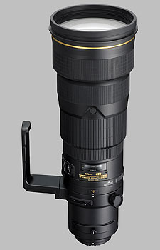 image of the Nikon 500mm f/4G IF-ED AF-S VR Nikkor lens