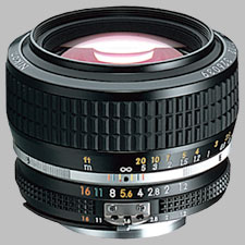 image of the Nikon 50mm f/1.2 AIS Nikkor lens