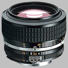 image of the Nikon 50mm f/1.2 AIS Nikkor lens