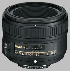 image of Nikon 50mm f/1.8G AF-S Nikkor