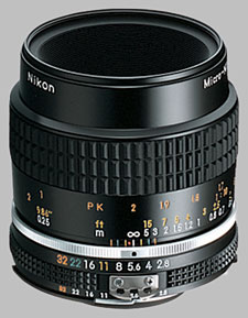 image of the Nikon 55mm f/2.8 AIS Micro-Nikkor lens