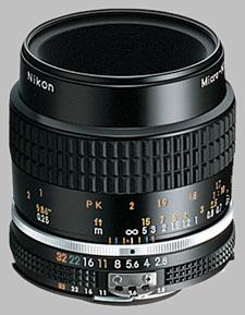 image of the Nikon 55mm f/2.8 AIS Micro-Nikkor lens
