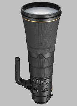 image of the Nikon 600mm f/4E FL ED AF-S VR Nikkor lens