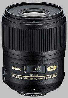 image of the Nikon 60mm f/2.8G ED AF-S Micro Nikkor lens