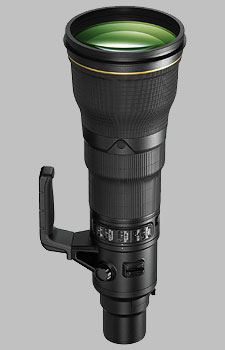 image of the Nikon 800mm f/5.6E FL ED AF-S VR Nikkor lens