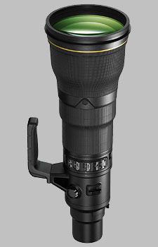 image of the Nikon 800mm f/5.6E FL ED AF-S VR Nikkor lens