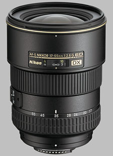 image of the Nikon 17-55mm f/2.8G ED-IF DX AF-S Nikkor lens