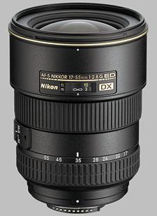 image of the Nikon 17-55mm f/2.8G ED-IF DX AF-S Nikkor lens