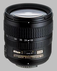 image of the Nikon 18-70mm f/3.5-4.5G ED-IF DX AF-S Nikkor lens