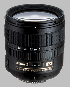 image of the Nikon 18-70mm f/3.5-4.5G ED-IF DX AF-S Nikkor lens