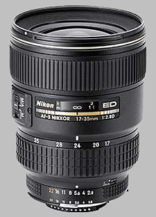 image of the Nikon 17-35mm f/2.8D ED-IF AF-S Nikkor lens