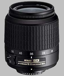 image of the Nikon 18-55mm f/3.5-5.6G ED DX AF-S Nikkor lens