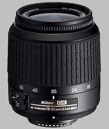 image of the Nikon 18-55mm f/3.5-5.6G ED DX AF-S Nikkor lens