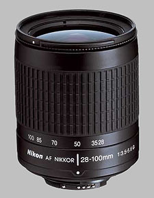 image of the Nikon 28-100mm f/3.5-5.6G AF Nikkor lens
