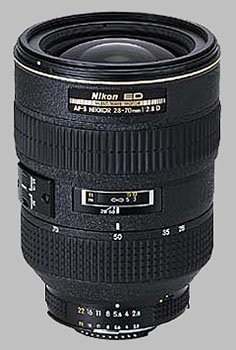 image of the Nikon 28-70mm f/2.8 ED-IF AF-S Nikkor lens