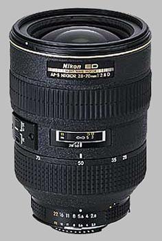 image of the Nikon 28-70mm f/2.8 ED-IF AF-S Nikkor lens