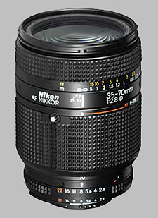 image of the Nikon 35-70mm f/2.8D AF Nikkor lens