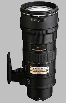 image of the Nikon 70-200mm f/2.8G ED-IF VR AF-S Nikkor lens