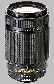 image of the Nikon 70-300mm f/4-5.6D ED AF Nikkor lens
