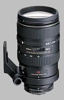image of Nikon 80-400mm f/4.5-5.6D ED VR AF Nikkor
